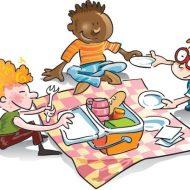За обяд и пикник